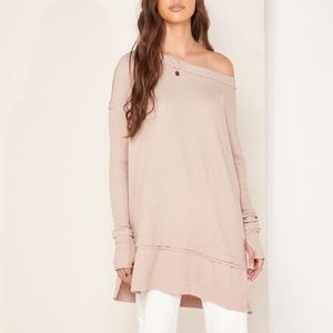 Free People North Shore Thermal NWT Large